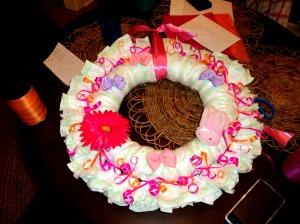 Frugal Baby Shower Fun - Make A Diaper Cake! |Frugal Yakima Mom